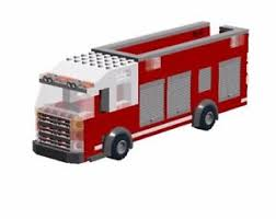 truck instructions custom fire truck rescue instructions only ebay