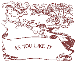 as you like it tales from shakespeare by charles and mary lamb