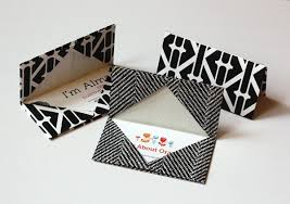 how to make gift cards how to make an origami business card holder how about orange