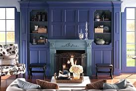 painted fireplace color ideas mantel and bookshelf decorating tips