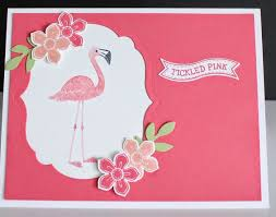 sts cards su flamingo lingo stin up carte e idee