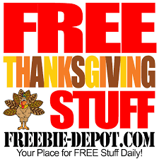 free thanksgiving stuff 2014 turkey day freebies thanksgiving