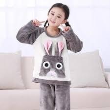 aliexpress buy 2017 winter children fleece pajamas warm