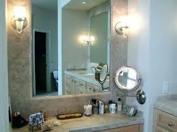 lighted vanity mirror wall mount horizontal bathroom mirror inch inch horizontal led wall mounted