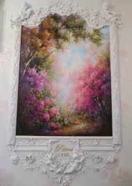 j petros art gallery petros my paintings art angels rococo ornamental scroll wall mural impressionism