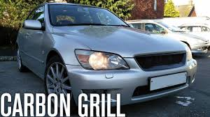 youtube lexus cars carbon grill u0026 led lights overview lexus is200 car vlog youtube