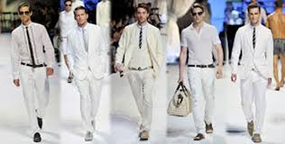 the all white party dress clothes for men