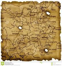 Chengdu China Map by Ancient China Map Royalty Free Stock Photo Image 6411365