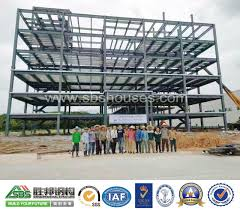 china prefabricated steel structure office and apartment building