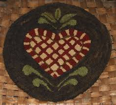 206 best rug hooking chair pads images on pinterest chair pads