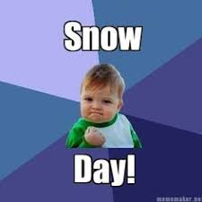 Baby Meme Generator - snow day confirmed success baby meme generator snow days