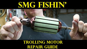 trolling motor repair guide troubleshooting youtube
