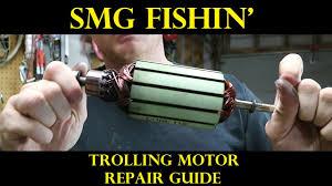 trolling motor repair guide troubleshooting youtube
