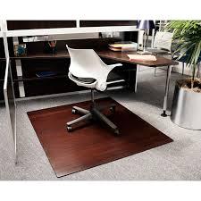 Chair Mat For Hard Floors Bamboo Chair Mat Rug Hardwood Floor Protector Office U2013 Meze Blog