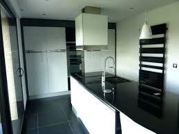 cuisine noir et blanc laqué modele cuisine noir et blanc newsindo co with modele cuisine noir et