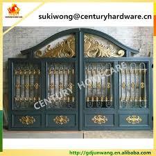 beautiful residential wrought iron gate designs wrought iron main