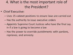 15 Cabinet Positions Chapter 7 Section 2 The President U0027s Job Ppt Video Online Download