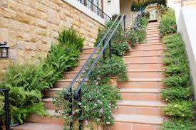 Banisters Flowers 64 Outdoor Steps With Flower Planters And Pots Ideas Pictures