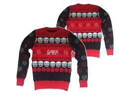metal band sweaters slayer thrash metal sweater holidays