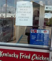 ohio kfc offers free meals for uniformed officers inspiremore