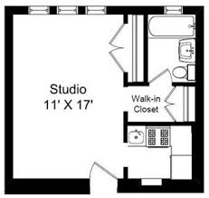 Studio Floor Plans 2sisters Apartments 5123 S Kimbark Chicago Il Rentcafé