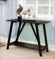 Thin Console Hallway Tables Furniture Awesome Glass And Metal Hall Table Slim Console Table