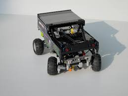 moc mini grave digger monster truck lego technic mindstorms