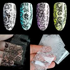 aliexpress com buy 1 roll lace nail design decals sticker