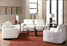 white leather living room set the best modern furniture designs