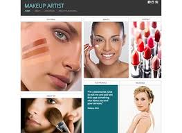 makeup artists websites makeup artist website template wix