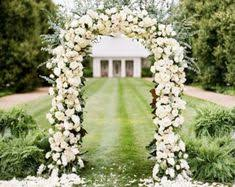 wedding arch no flowers lush floral rustic outdoor summer wedding arch weddings