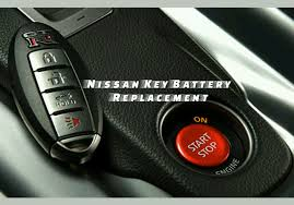 nissan key battery replacement youtube