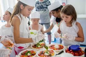 concours de cuisine les enfants du centre aéré apprennent à cuisiner le site officiel