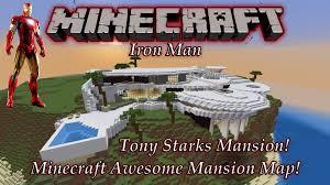 stark malibu mansion minecraft tony starks mansion map pc download youtube