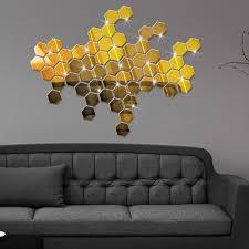 online get cheap decorative mirror wall stickers aliexpress com