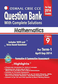 oswaal cbse cce question bank with complete solutions