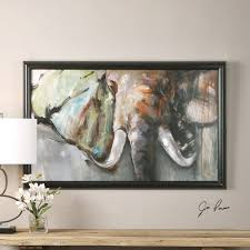 uttermost bull rush elephant art animals pinterest artwork