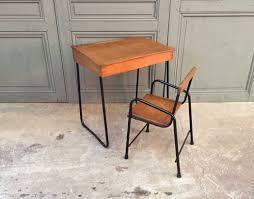 chaise enfant bureau ensemble bureau et chaise enfant vintage