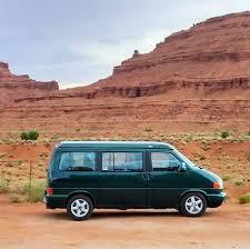 volkswagen eurovan camper rent a volkswagen eurovan weekender rocky mountain campervans