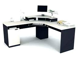 L Shaped White Desk L Shaped White Computer Desk White L Shaped Computer Desk With
