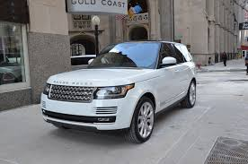 white and gold range rover 2014 land rover range rover supercharged stock gc1368 for sale