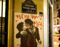 Meme Pas - la imagen del beso de doisneau vuelve a las calles de par祗s tras