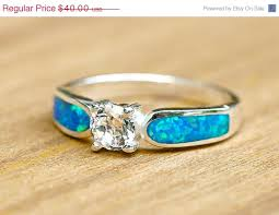 geode engagement ring box valentines day sale engagement ring opal ring geode ring october