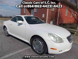 lexus sc430 white for sale 2002 lexus sc400 for sale classiccars com cc 888595