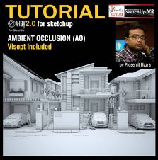 sketchup texture tutorial ambient occlusion vray 2 0 for sketchup