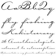 tattoo fonts for names cursive i like the afternoon delight one