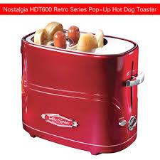 Toaster Machine Nostalgia Hdt600retrored Retro Series Mini Household Pop Up