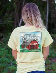 were you raised in a barn southernology short sleeve