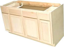unfinished base cabinets with drawers kitchen base cabinet with drawers quality x 1 2 unfinished oak sink