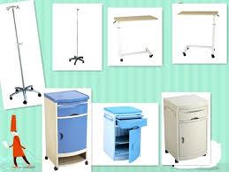 hospital bed tray table used hospital bedside tables hospital patient bedside tables used